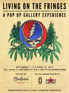 """""""Living on the Fringes"""" showcases original rock band memorabilia from the 70's"""